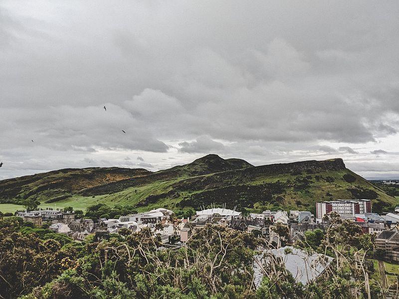 Edinburghs Hausberg Arthurs Seat