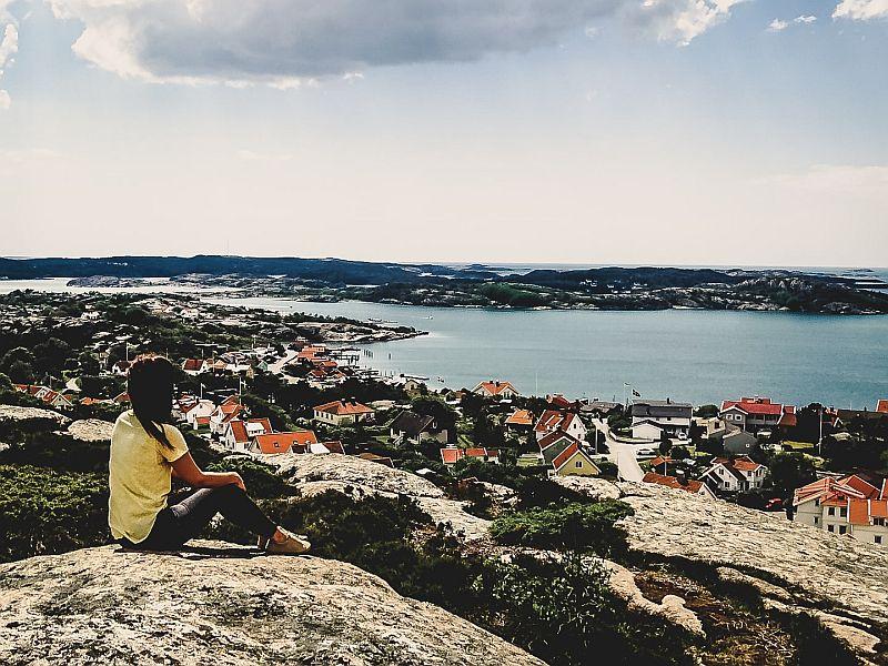 Aussichtspunkt vom Vetteberget auf Fjällbacka
