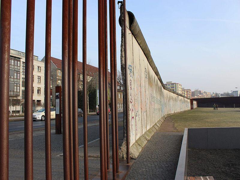 Berlin Highlights - Ein Stück der Berliner Mauer an der Ackerstraße