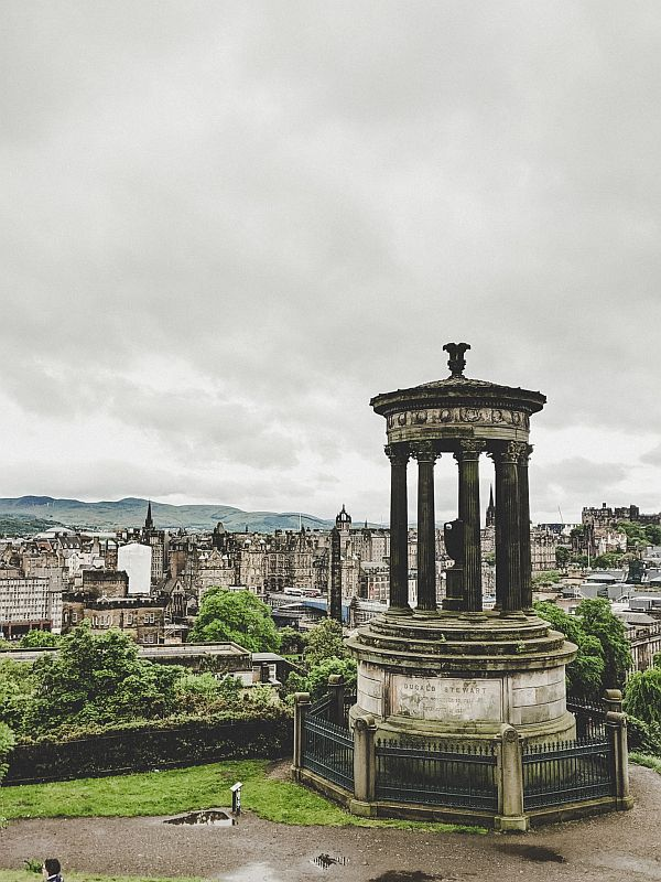 Edinburgh Highlights - Auf dem Calton Hill