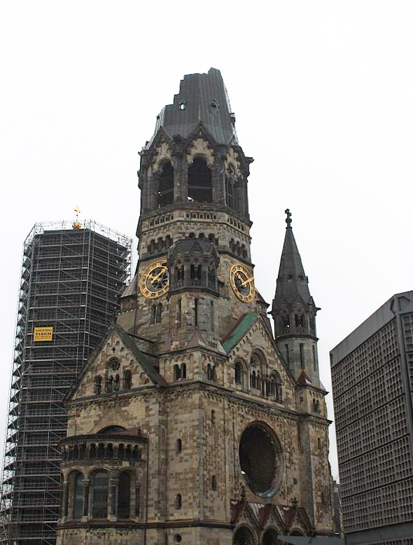 Berlin Highlights - Die Gedächtniskirche in der City West