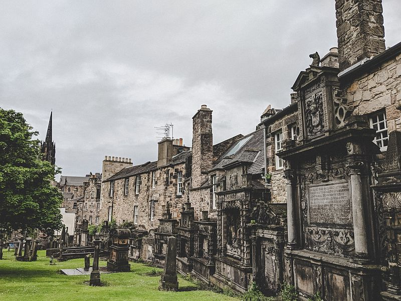 Edinburgh Highlights - der Greyfriars Kirkyard
