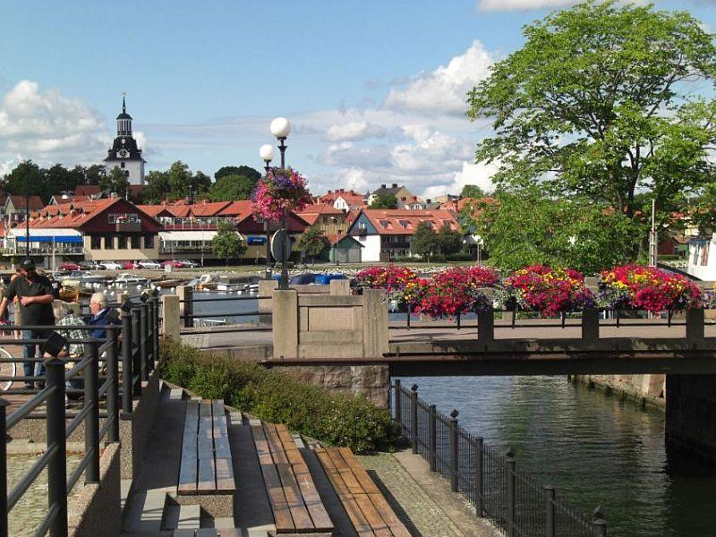 Südschweden Highlights - Die Stadt Västervik in der Provinz Kalmar
