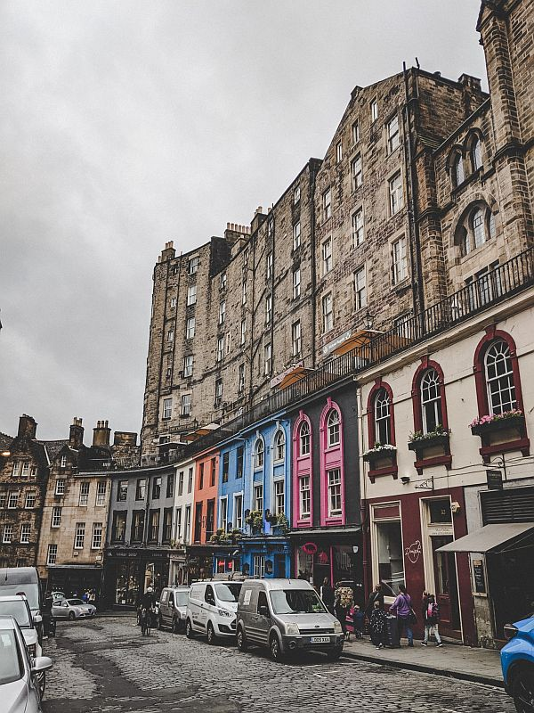 Edinburgh Highlights - die Victoria Street