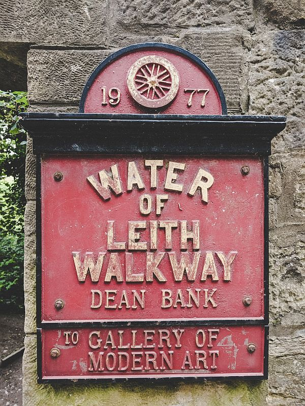 Der Water of Leith Walkway