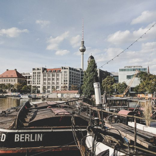 Der historische Hafen Berlin