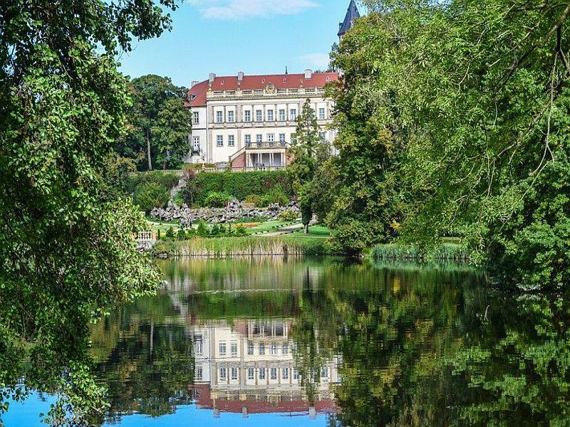 Ausflugsziele in Brandenburg - Der Schlosspark Wiesenburg