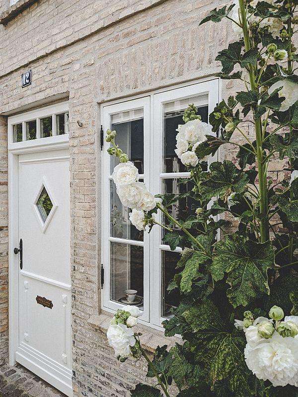 Haus mit Rosen im Oluf-Samson-Gang