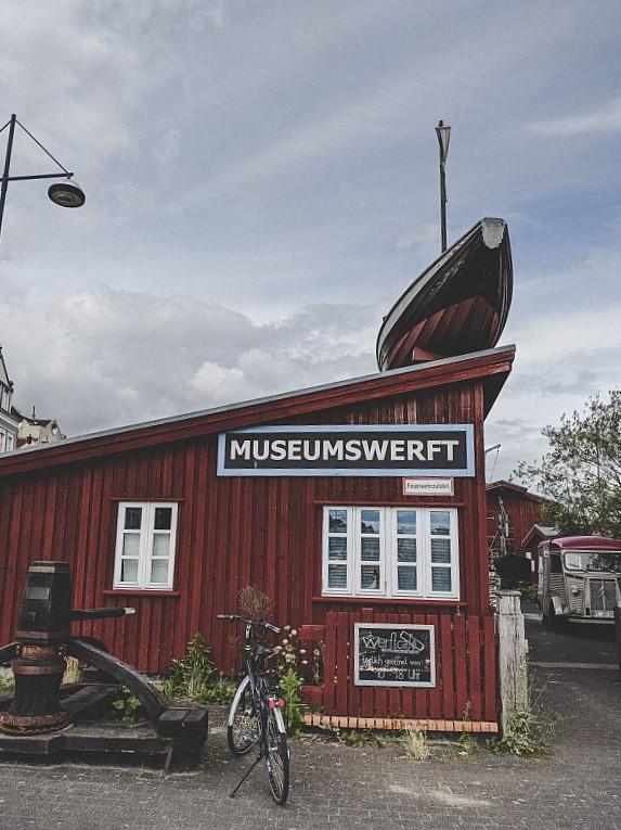 Flensburg Sehenswürdigkeiten - Eingang zur Museumswerft