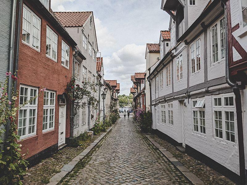 Der Oluf-Samson-Gang in Flensburg
