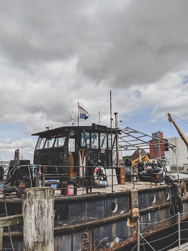 Historische Dampfschiffe in Flensburg