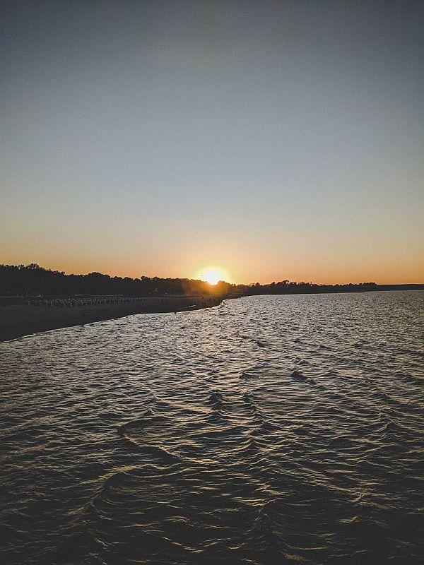 Boltenhagen Tipps - Der Sonnenuntergang auf der Seebrücke