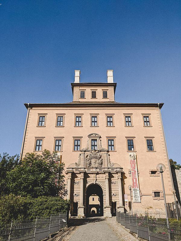Zeitz Tipps - das Torhaus im Schloss Moritzburg Zeitz