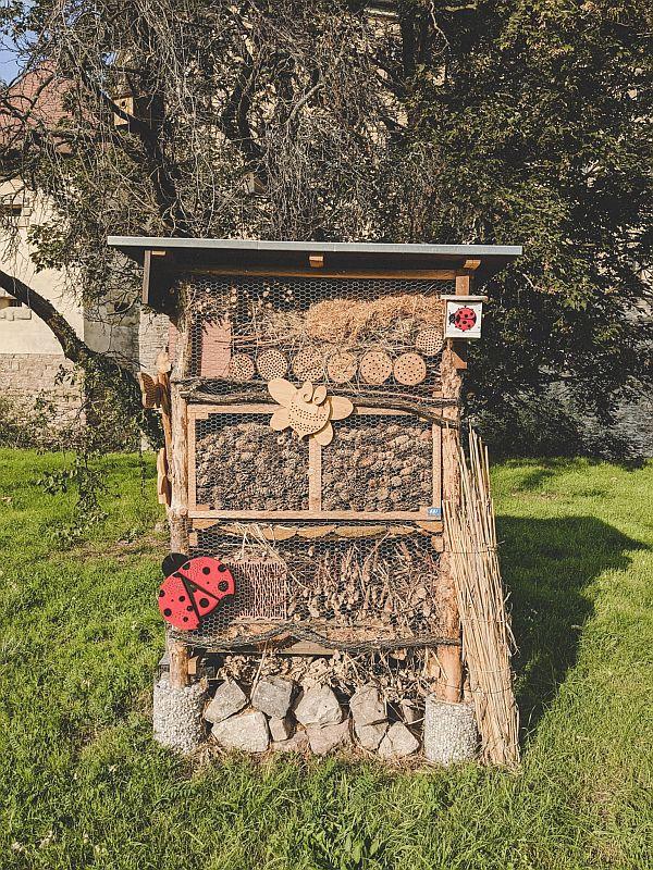 Insektenhotel im Zeitzer Schlosspark