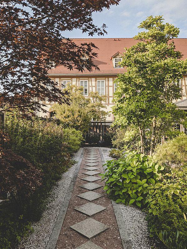 Der Japanische Garten im Schlosspark Zeitz