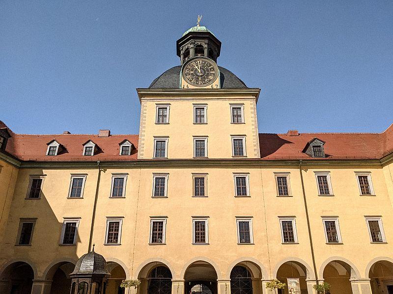 Das Schloss Moritzburg Zeitz