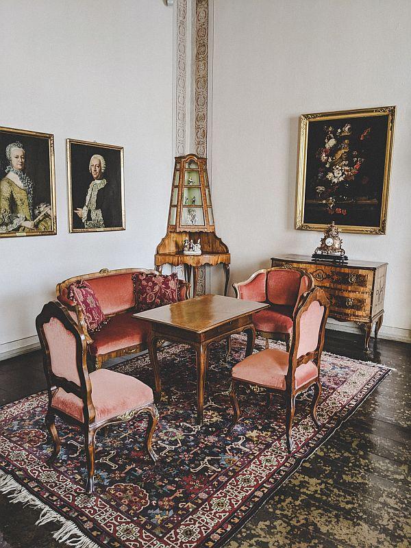 Zeitz Tipps - Die Möbelsammlung im Schloss Moritzburg Zeitz