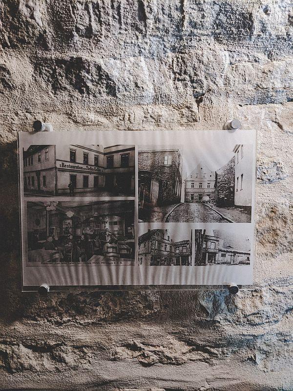 Ehemalige Häuser über dem Tiefen Keller in Merseburg