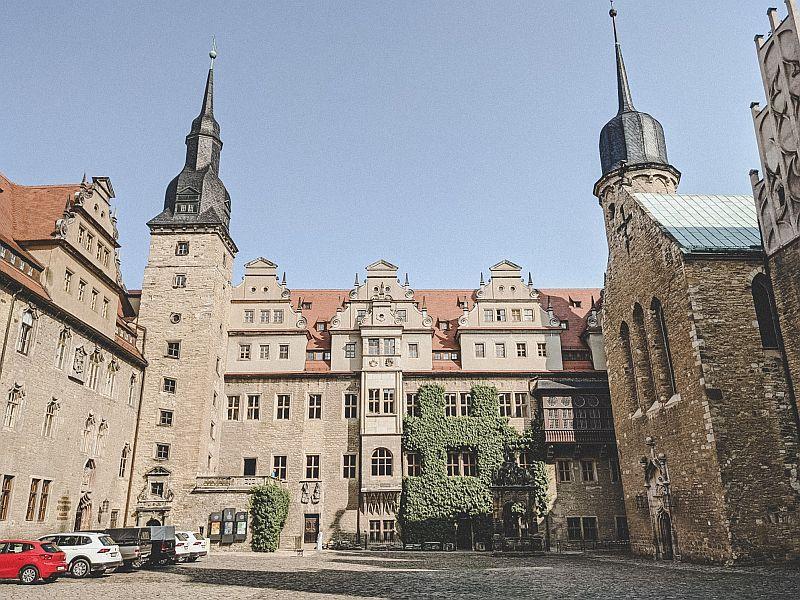 Merseburg Tipps - Der Hof des Merseburger Schlosses