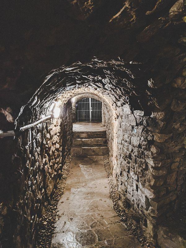 Merseburg Tipps - Einer der vielen endlosen Gänge im Tiefen Keller