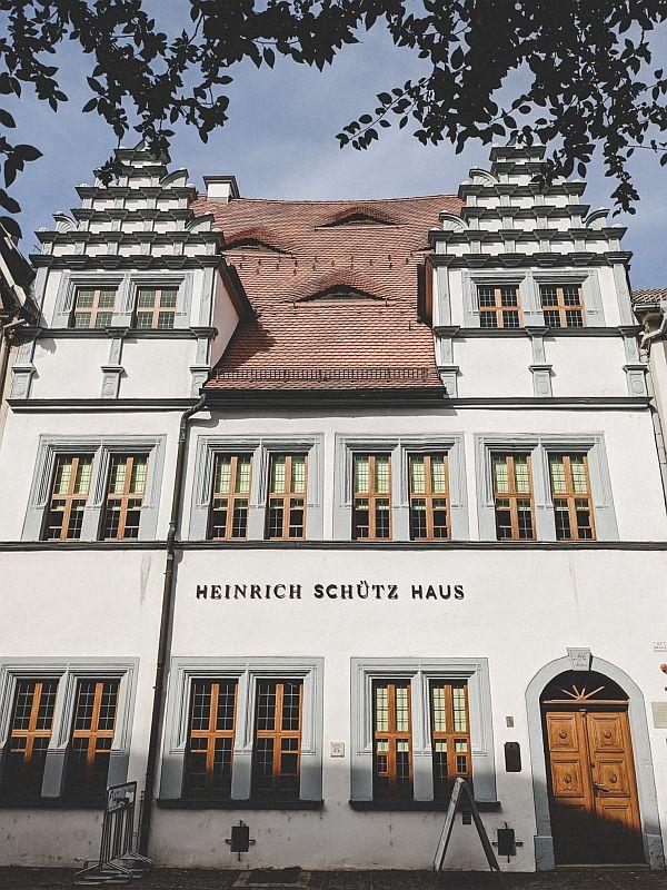 Weißenfels Sehenswürdigkeiten - Das Heinrich-Schütz-Haus