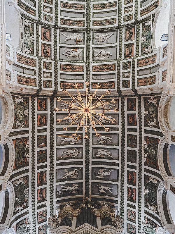 Weißenfels Sehenswürdigkeiten - Die Decke der Schlosskirche St. Trinitatis
