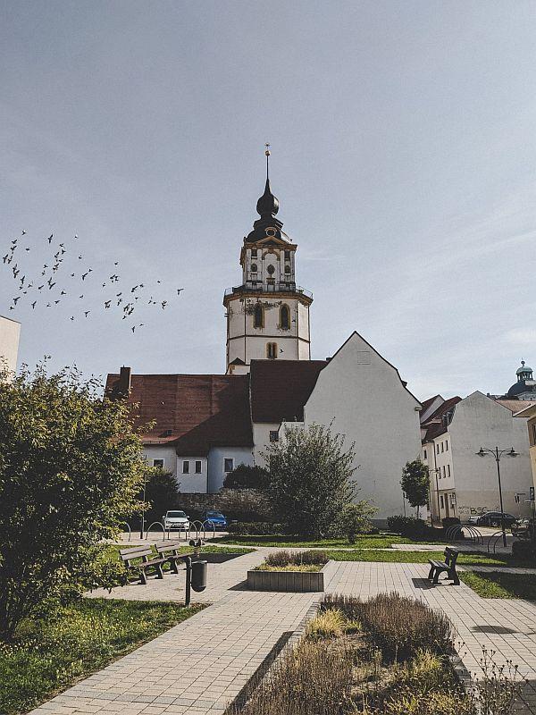Weißenfels Sehenswürdigkeiten -Die Kirche St. Marien