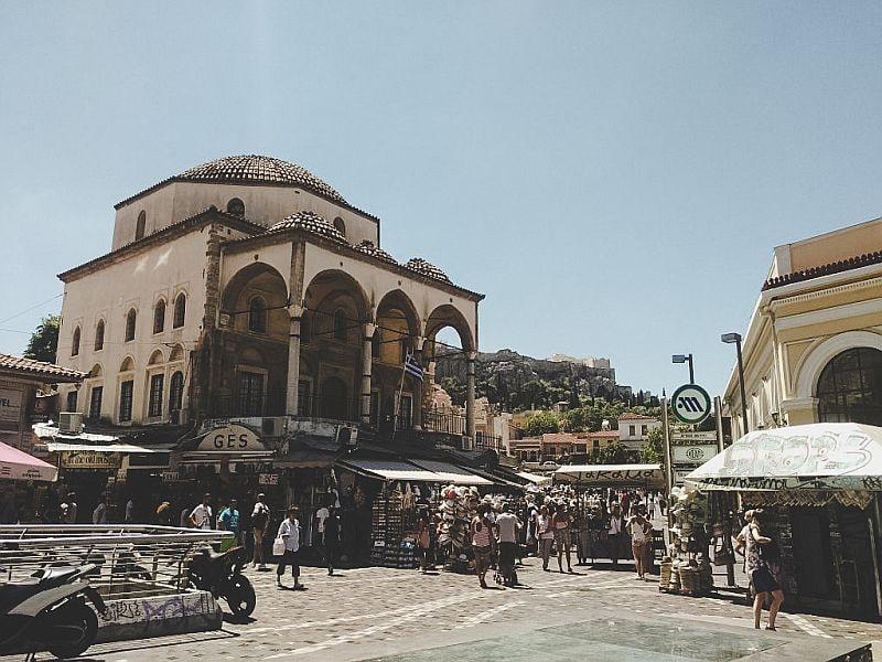 Athen Tipps - Die Byzantinische Kirche auf dem Monastiraki Platz