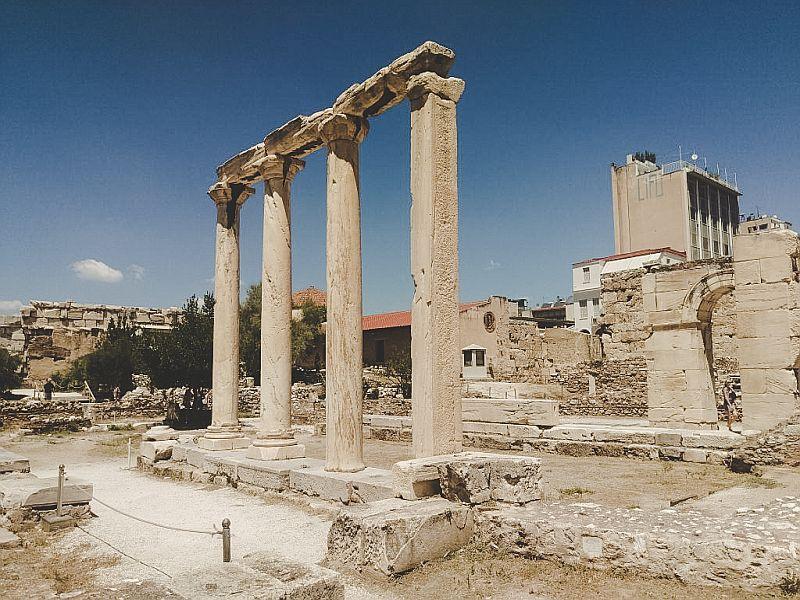 Athen Tipps - Die Hadriansbibliothek