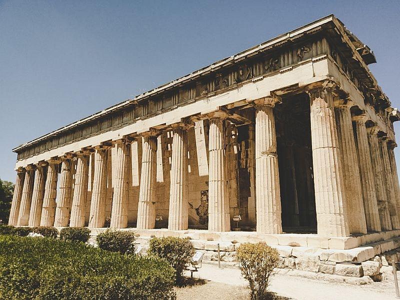 Der Tempel des Hephaistos