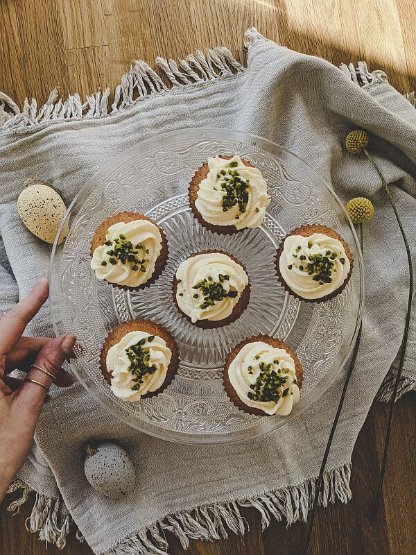 Leckere Karottenkuchen-Muffins