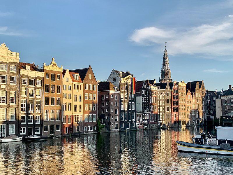 Die Architektur in Amsterdam