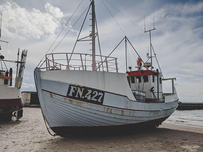 Fischerboot Løkken