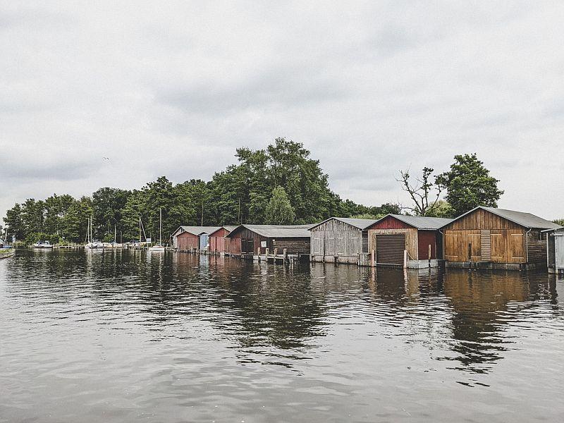 Bootshäuser Plau am See